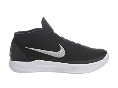new styles e3240 83981 Image Unavailable. Image not available for. Color  Nike Mens Kobe A.D.  Black Metallic Silver White ...