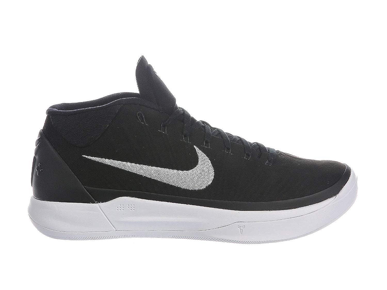 Nike Men's Kobe A.D. schwarz Metallic Metallic Metallic Silber Weiß Nylon Basketball schuhe 11 D(M) US be17c2