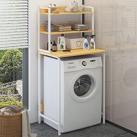 Estante de la lavadora Estante de lavadora de múltiples capas ...