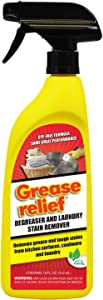 Grease Relief Degreaser and Laundry Stain Remover, 18 Ounce