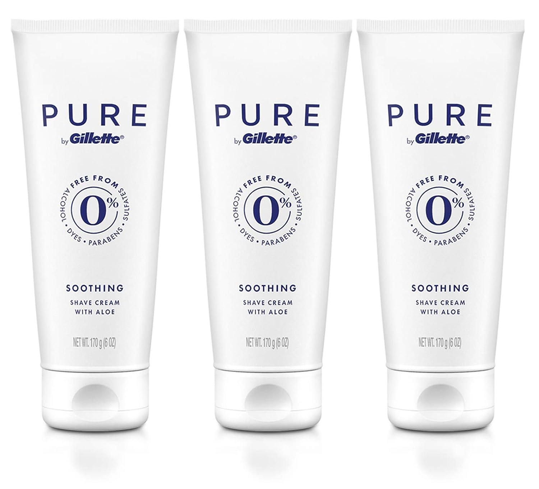 PURE by Gillette Shaving Cream for Men