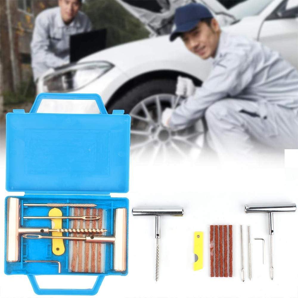 VTT pour Moto Camion Tracteur R/éparation de Perforation de Pneu Plat Jeep KingSaid Kit de R/éparation de Pneu 11pcs