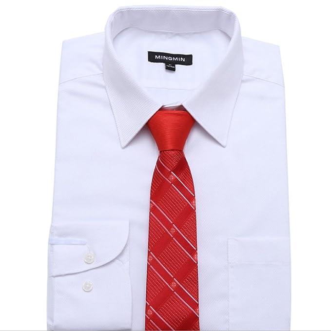 Neckchiefs Los Hombres Atan la Corbata roja de Seda y la Mezcla de ...
