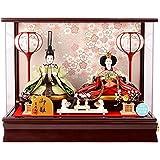 雛人形 ケース 吉徳 ひな人形 親王飾り h283-yscp-322064
