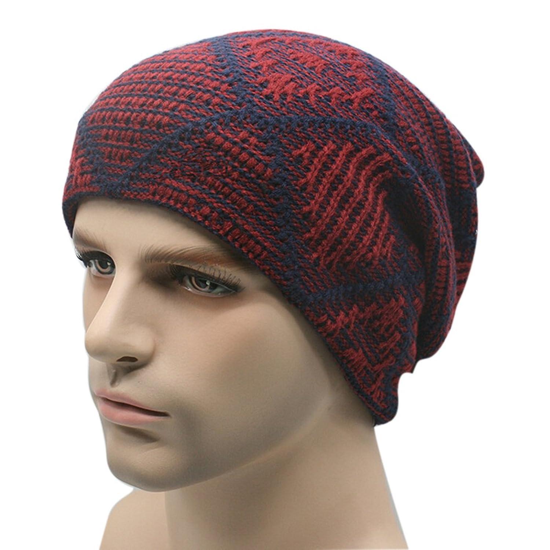 Highdas Fashion Men Women H¨¹te Warm Winter Knit Hat Kappen Baggy Beanie Stretch Ski Slouchy Chic Cap Skull M¨¹tzen Neu