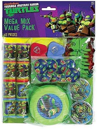 Teenage Mutant Ninja Turtle Mega Mix Favor Pack (48) Pieces Birthday Party (Teenage Mutant Ninja Turtles Eggs compare prices)