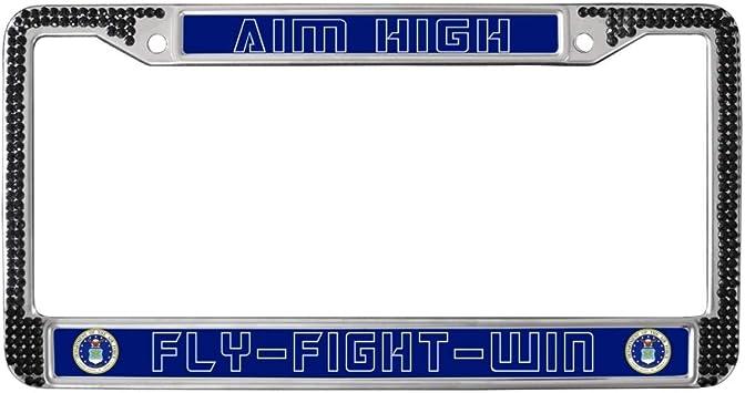 Laser Engraved Customize License Plate Frame Tag Holder fit BMW