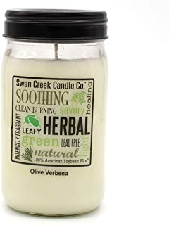 product image for Swan Creek Candle Olive Verbena 24 Oz Candle