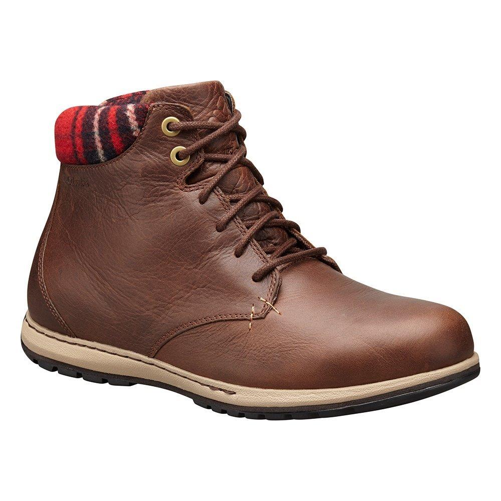 Hawk   British Tan Columbia Men's Davenport XTM Waterproof Omni-Heat Chukka Boots
