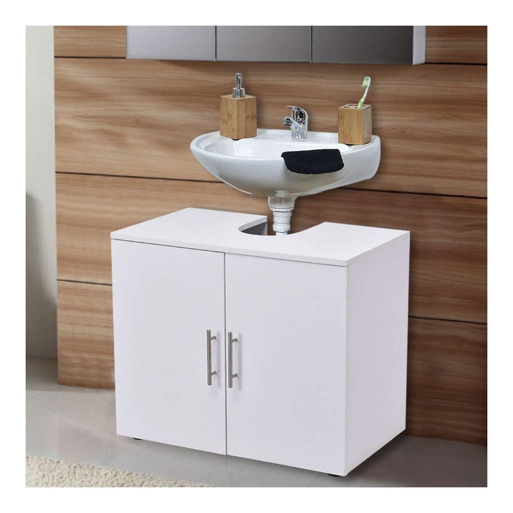 Non Pedestal Under Sink Bathroom Storage Vanity Cabinet