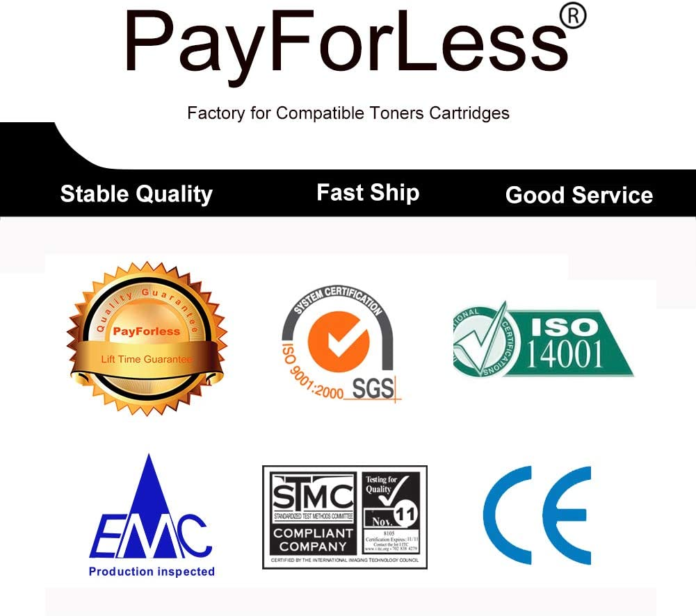 PayForLess Compatible TN436 TN-436 Toner Cartridge for Brother MFC-L8900CDW HL-L8360CDW HL-L8360CDWT HL-L9310CDW MFC-L9570CDW