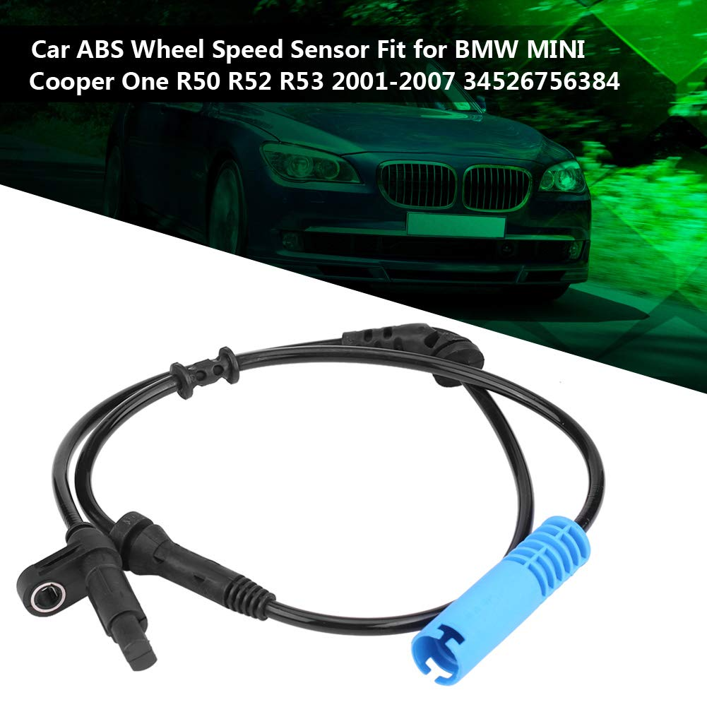 Acouto ABS Wheel Speed Sensor for BMW MINI Cooper One R50 R52 R53 2001-2007 34526756384