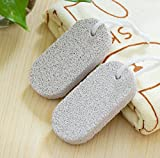 1-Pcs Spruce Popular Feet Natural Pumice Stone Callus Remover Shower Tools Hard Dead Colors Grey