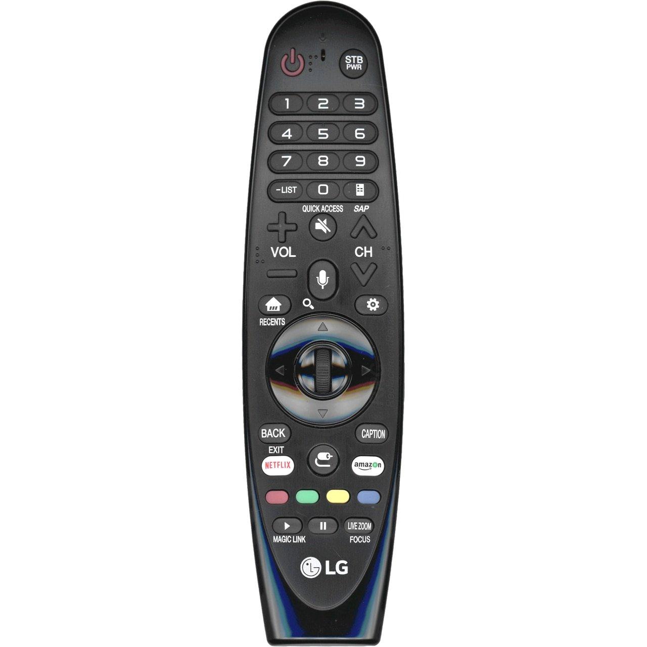 LG AN-MR650A RF inalámbrico Botones Negro - Mando a Distancia (Universal, RF