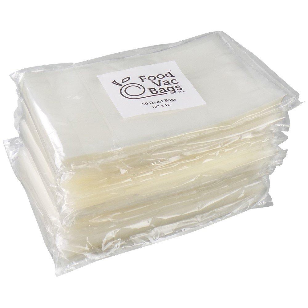 400 8'' X 12'' Quart FoodVacBags Vacuum Sealer Bags Professional Grade Foodsaver Type by FoodVacBags