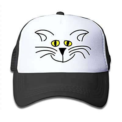 BKids AccE-Hat Katze 2c Adjustable Mesh Baseball Hats/Back Sun Visor Cap For Youth Girls Boys