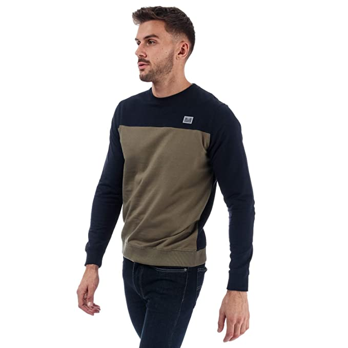 Weekend Offender Miller Colour Crew - Sudadera para Hombre, Color ...