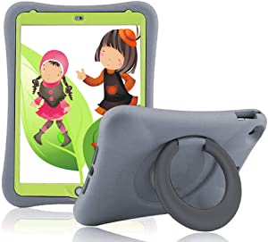 iPad 10.2 2019/2020 Case for Kids,Heavy Duty/Shockproof/Drop Proof with Kickstand Tablets Kids Friendly Protective Cover for iPad 10.2-inch 2019 Released 7th /2020 Released 8th Generation (Gray)