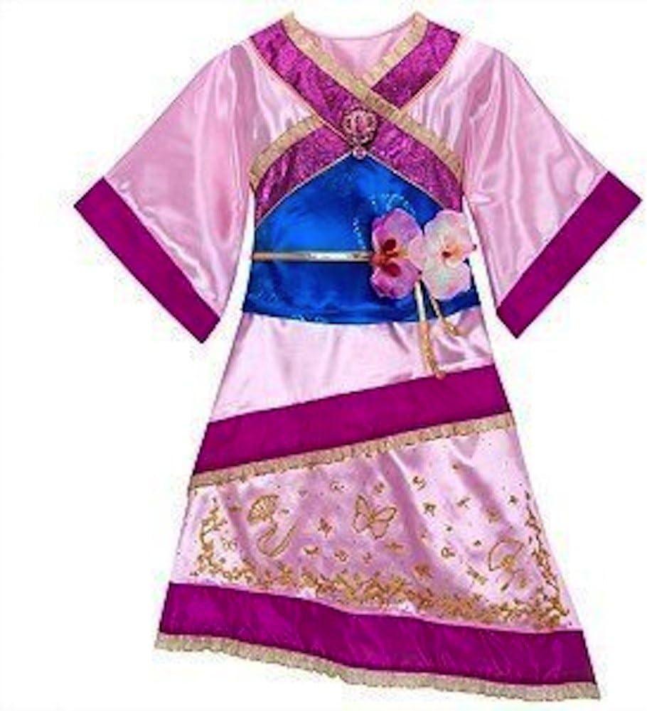 Amazon Com Disney Store Mulan Costume Dress Xs 4 For Toddler Girls Toys Games