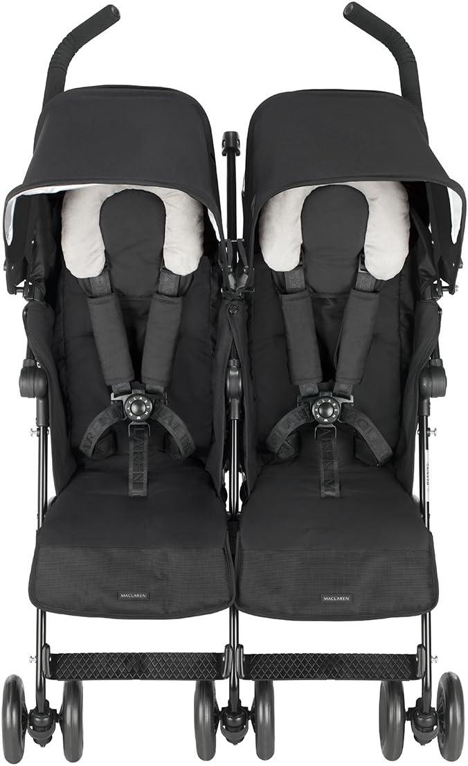 Maclaren Twin Techno - Silla de paseo, color negro: Amazon.es: Bebé