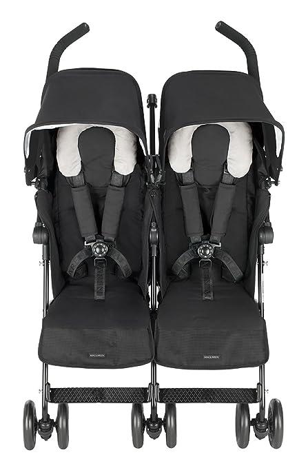 5f5127bf4 Maclaren Twin Techno - Silla de paseo, color negro: Amazon.es: Bebé