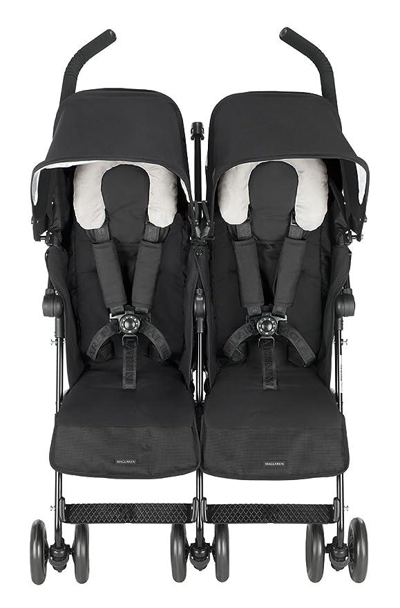 Maclaren Twin Techno - Silla de paseo, color negro