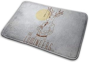 """Reginald C Kidder The Lumineers Carpet Non Slip Doormat Rug Absorbent Mats for Living Room Bathroom Dinning Kitchen (15.7"""" X 23.5""""inch)"""