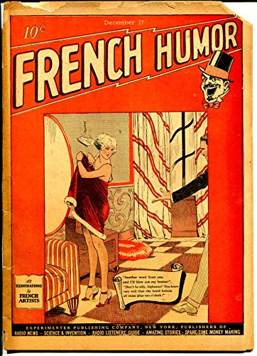 French Humor 12/17/1927-Experimental-Gernsback-spicy art-French artists-FR