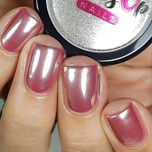 How To Use Chrome Nail Powder Without Gel: Chrome Powder For Mirror Nails