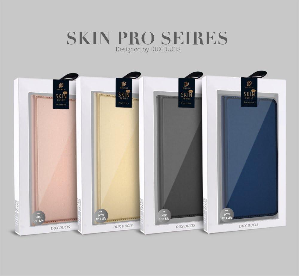 Funda HTC U11 Life, DUX DUCIS Skin Pro Series Ultra Slim Layered Dandy, Pata De Cabra,Magnetico, TPU Parachoques, Protección De Cuerpo Completo Para HTC U11 Life ...