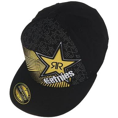 0866f5e1a1cf86 Etnies Rockstar Cap BURST FLEXFIT HAT, schwarz, L/XL: Amazon.co.uk: Clothing