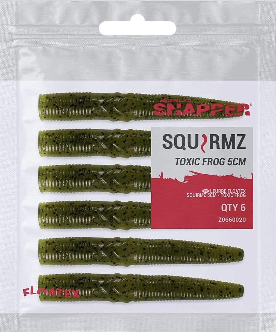 Korum Snapper Floatex Squirmz Choose Your Colour