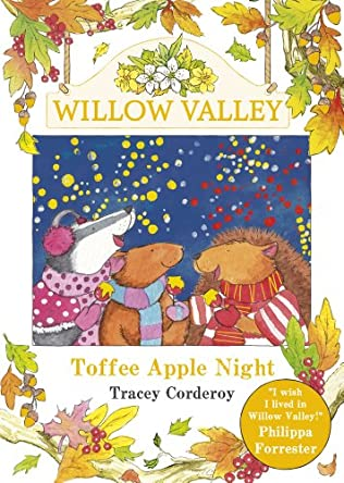 book cover of Toffee Apple Night