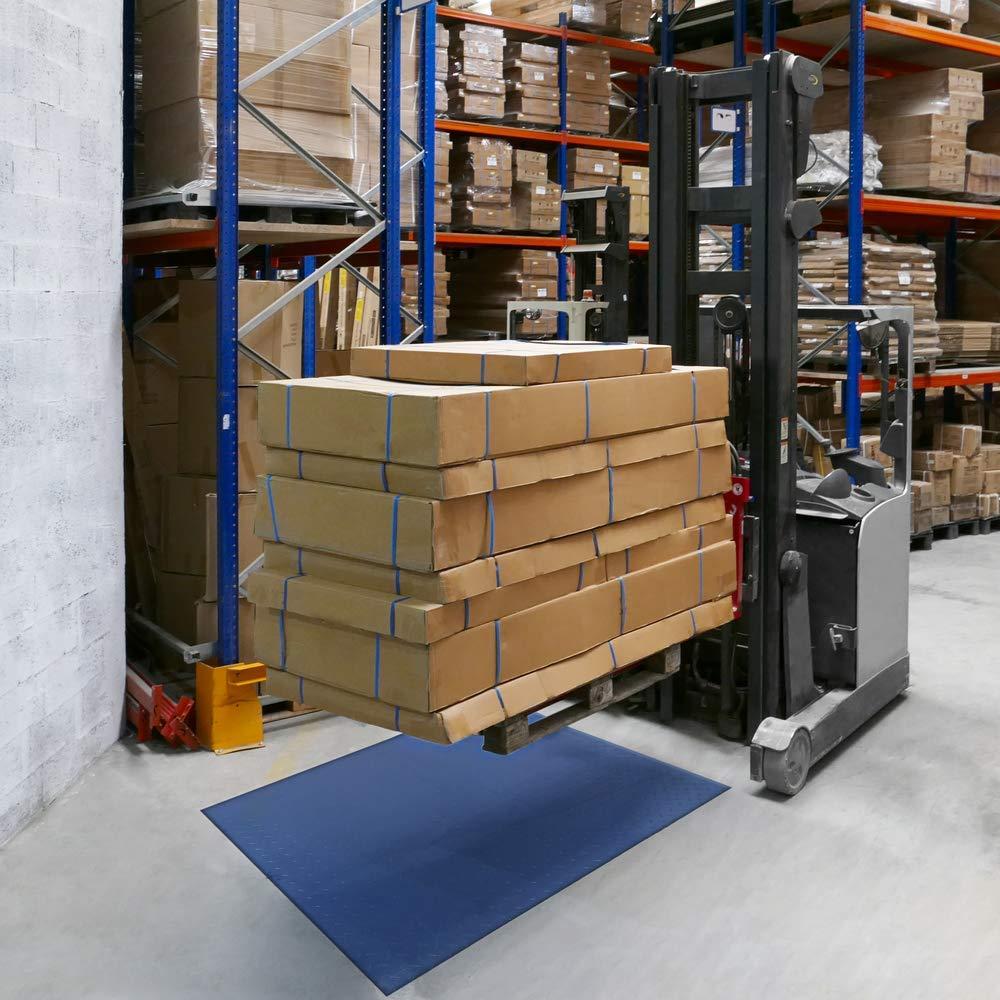 PrimeMatik - Balanza Industrial de Plataforma 80x80 cm Báscula de Suelo 4000 Kg: Amazon.es: Electrónica