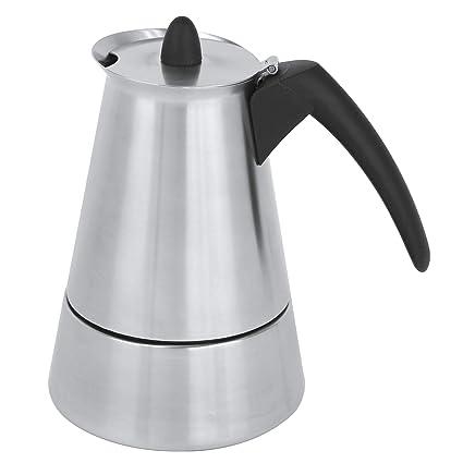 Cristel c6tn cafetera italiana novara-6 tazas, acero ...