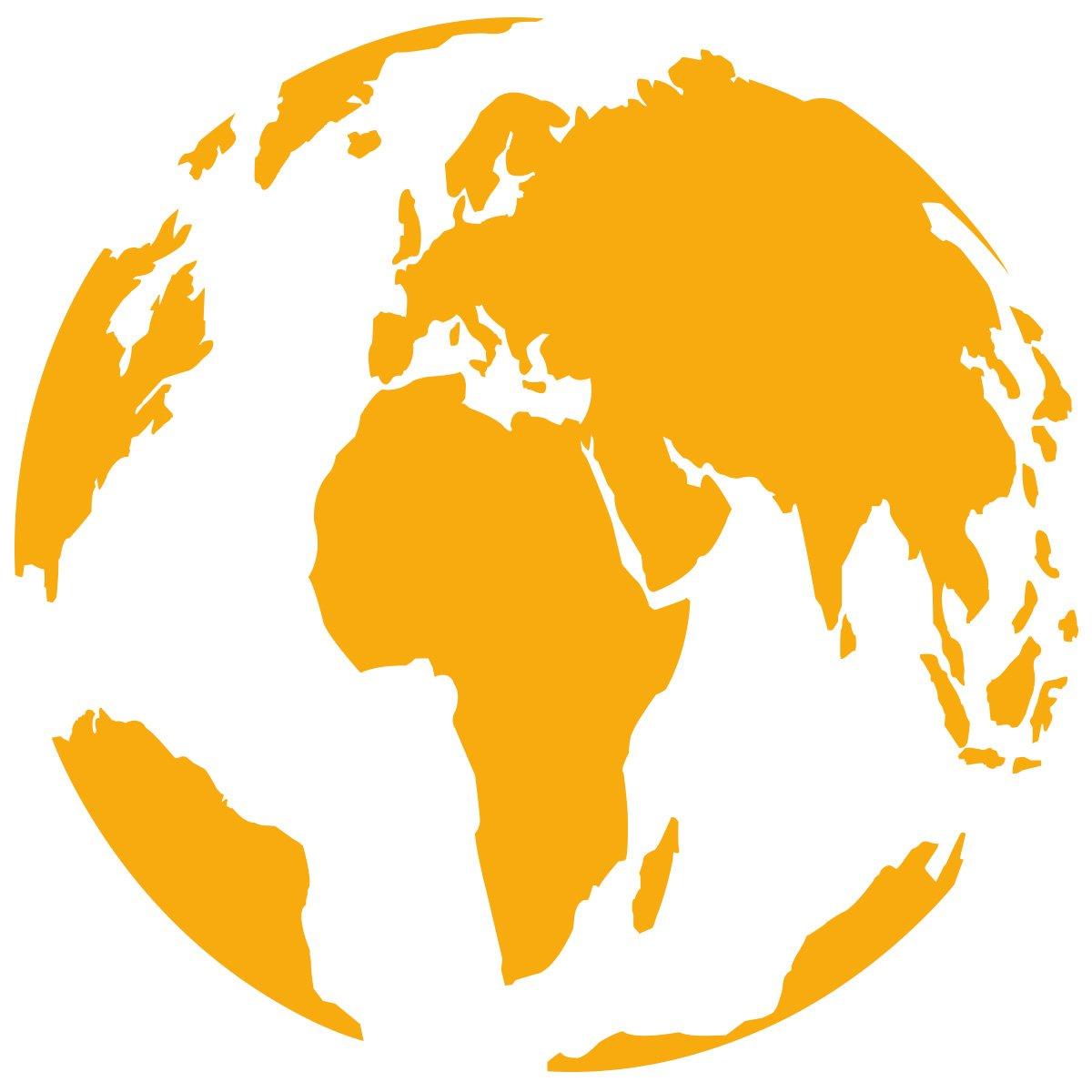 WANDKINGS Wandtattoo - Globus - 90 x 90 90 90 cm - Kupfer - Wähle aus 5 Größen & 35 Farben B078YF37Y2 Wandtattoos & Wandbilder ce9626