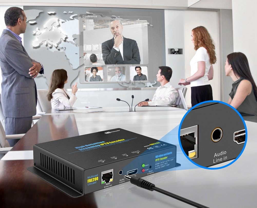FMUSER H.264 Live HDMI Video Encoder, Full 1080p RTMP IPTV Encoder, Live Stream Broadcast on Facebook Youtube Ustream Wowza Streaming Platforms by fmuser (Image #7)