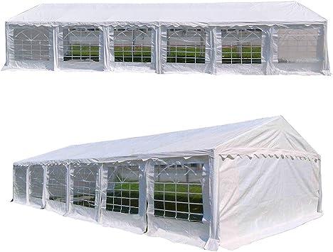 otlive multi-size boda fiesta blanco Gazebo caso tienda cobertizo coche refugio Heavy Duty Pavilion: Amazon.es: Jardín