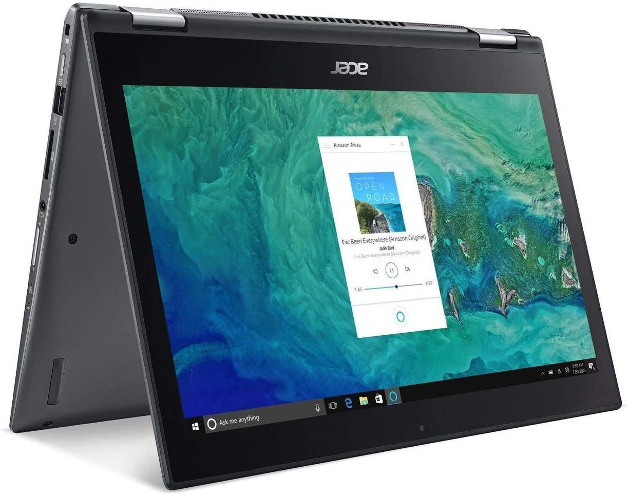 """Acer Spin 52019 Flagship 13.3"""" Full HD IPS Touchscreen 2-in-1 Business Laptop/Tablet, Intel Quad-Core i7-8550U 8GB DDR4 128GB SSD Bluetooth 4.1 802.11ac Backlit Keyboard Fingerprint Reader Win 10"""