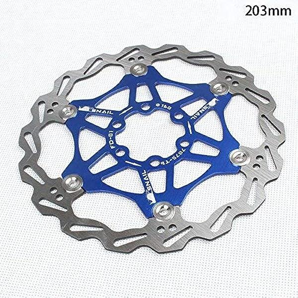 Wovemster Frenos de bicicleta MTB, disco flotante de bicicleta de montaña, 160 mm (azul): Amazon.es: Coche y moto