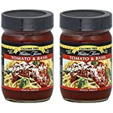 Walden Farms Sauce Pasta Cf Tomato Basil 12 oz (Pack of 2)