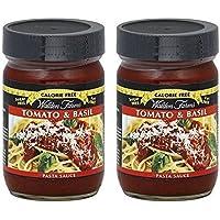 Walden Farms Sauce Pasta Cf Tomato Basil 12 oz (Pack of 2)