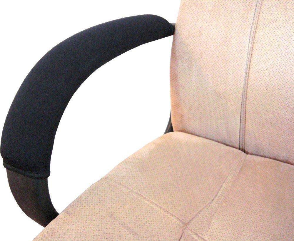 Amazon.com: Ergo360 Soft Neoprene Chair Armrest Covers (Complete 2 Piece  Set): Kitchen U0026 Dining