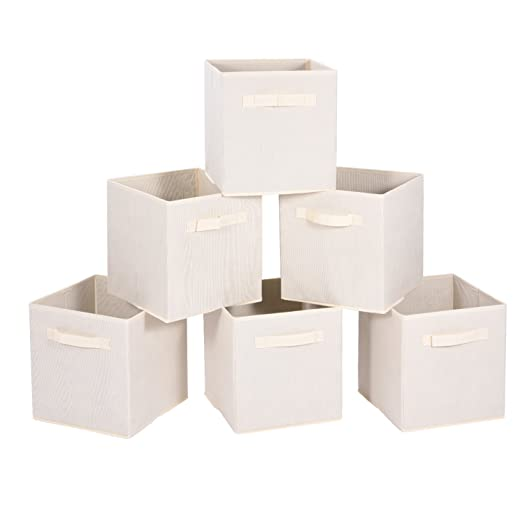 Foldable Storage Cubes 6 pack.