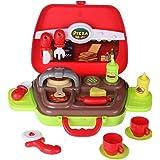 SFL 14 Pezzi Pizza Cottura Riproduci Prima Educazione Giocattolo per i Bambini