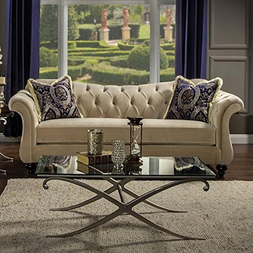 - Furniture of America Antoinette Collection SM2224-SF Sofa 96