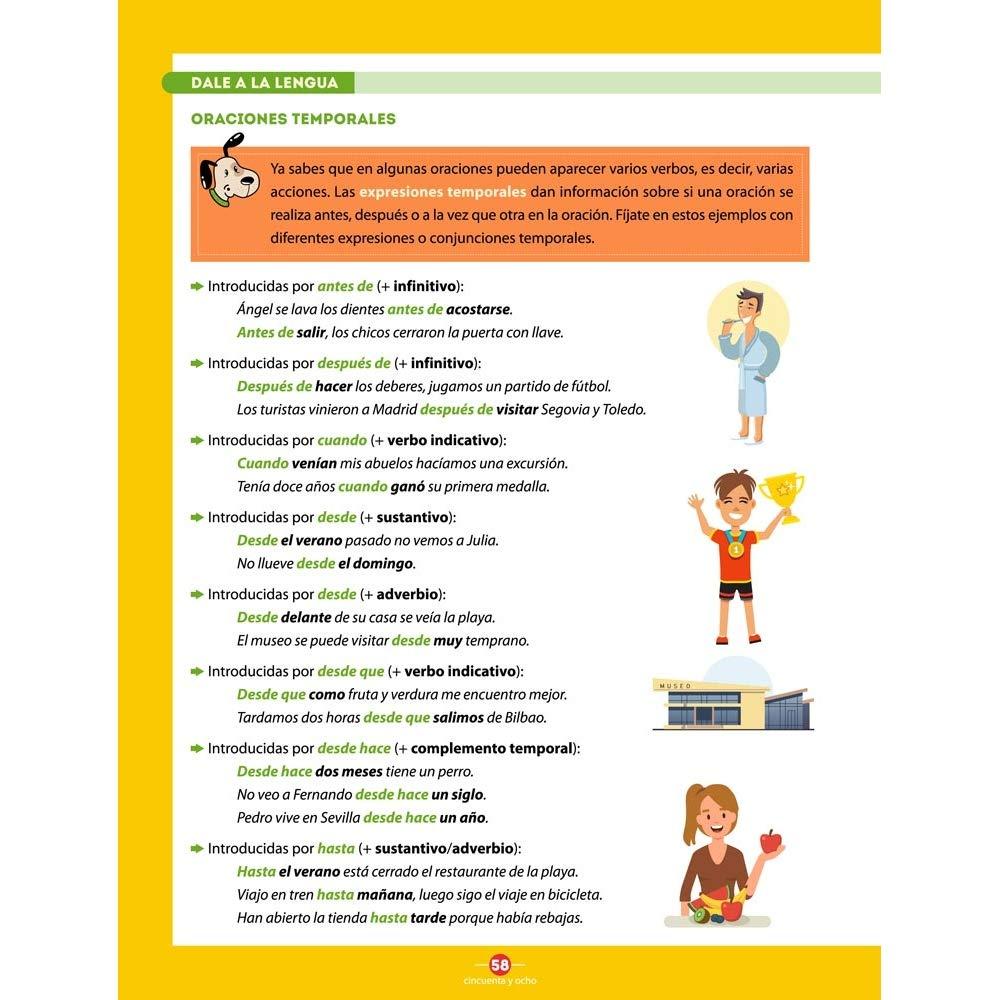 Español entre Amigos: Curso 4, Nivel A2 Español para Niños: Amazon ...