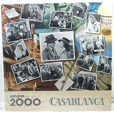 Casablanca 2000 Pc 34 X 415 Puzzle By Springbok