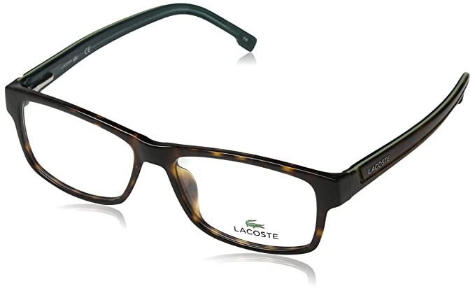 61dc1eed437 Amazon.com  Lacoste Eyeglasses L2707 214 Havana 53MM  Clothing
