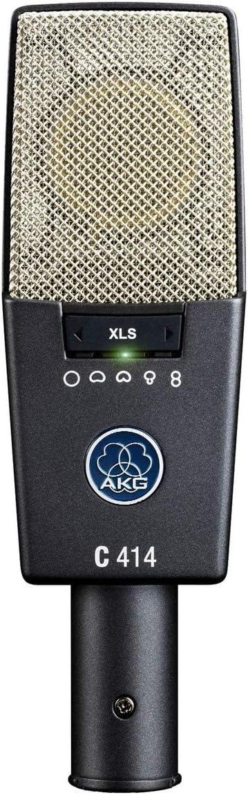 AKG Pro Audio C414 XLS Instrument Condenser Microphone